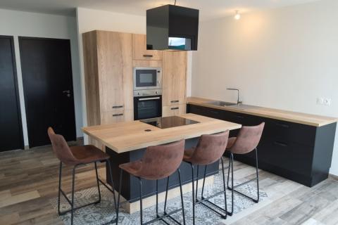 La cuisine de David & Tiffany, une cuisine réalisée par SoCoo'c Saumur