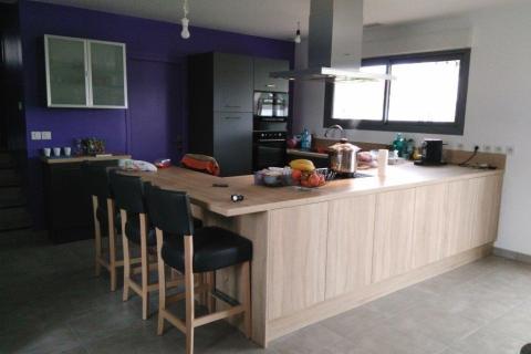 Chaleur du bois et efficacité de l'anthracite ! , une cuisine réalisée par SoCoo'c Toulouse Nord