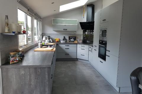 Cuisine maison de campagne, une cuisine réalisée par SoCoo'c Evreux
