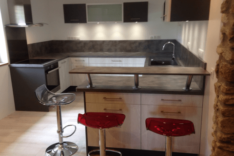 La cuisine Moderne et design de Valérie et Bruno !