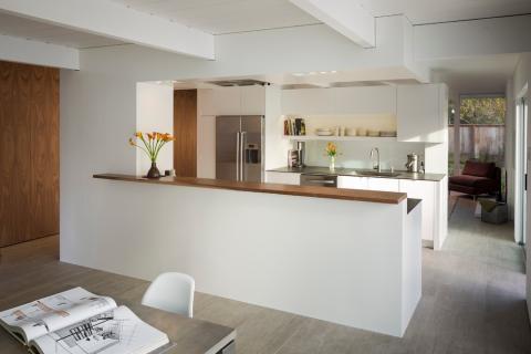 Une cuisine chic et originale
