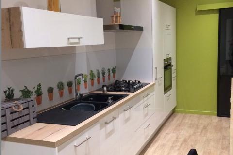 Cuisine industrielle blanche, une cuisine réalisée par SoCoo'c Chambéry