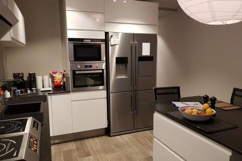 Cuisine Moderne , une cuisine réalisée par SoCoo'c Chambéry