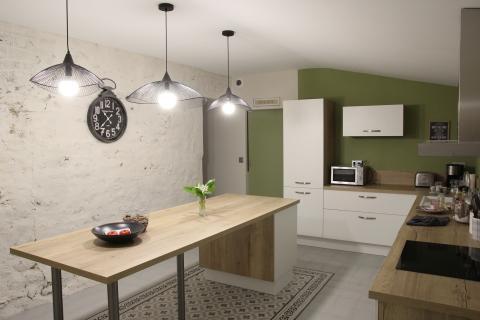 Cuisine nature et familiale, une cuisine réalisée par SoCoo'c Le Mans