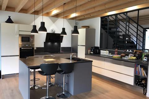 Cuisine style industriel ... So'Waouh, une cuisine réalisée par SoCoo'c Bayonne