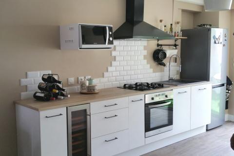 La cuisine chaleureuse de Véronique & Thierry, une cuisine réalisée par SoCoo'c Châteauroux