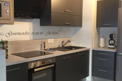 La cuisine de Kelly, une cuisine réalisée par SoCoo'c Villiers sur Marne