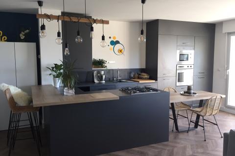 La cuisine de Mme C., une cuisine réalisée par SoCoo'c Marseille la Valentine