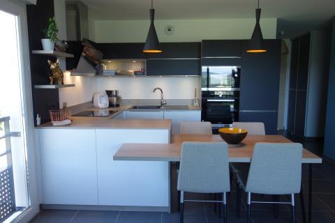 La cuisine de Monsieur D, une cuisine réalisée par SoCoo'c Annecy