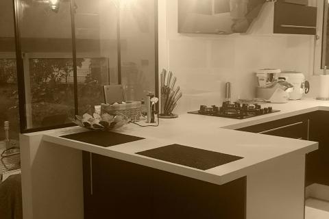 La cuisine de Pauline et Yan, une cuisine réalisée par SoCoo'c Lorient