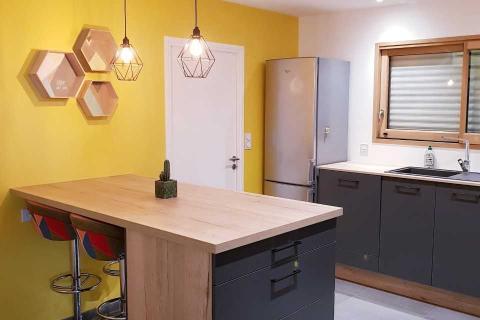 La cuisine de Violaine et Jonathan !, une cuisine réalisée par SoCoo'c Vannes