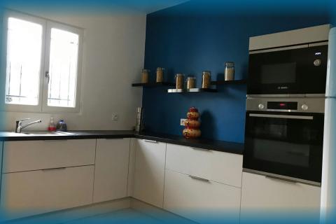 La vie en bleu !, une cuisine réalisée par SoCoo'c Alès