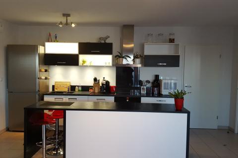 Noir & Blanc, une cuisine réalisée par SoCoo'c Toulouse Nord