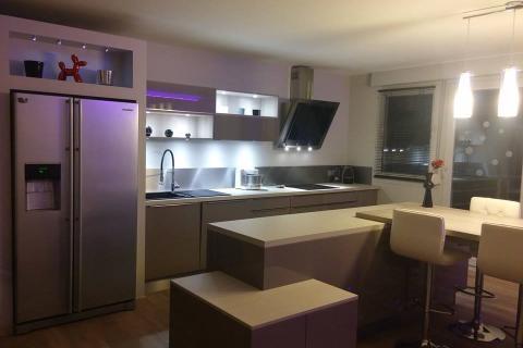Optimisation de l'espace !, une cuisine réalisée par SoCoo'c Bourgoin-Jallieu
