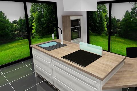 So' Open, une cuisine réalisée par SoCoo'c Gap
