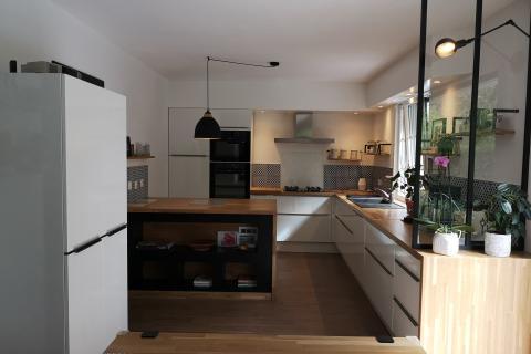 Style, ergonomie, cuisinez à votre façon avec SoCoo'c, une cuisine réalisée par SoCoo'c Rennes Melesse