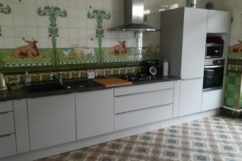Une ancienne boucherie revisitée par Socoo'c, une cuisine réalisée par SoCoo'c Saintes
