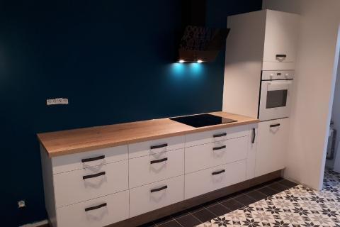 Une cuisine contemporaine et esprit déco !, une cuisine réalisée par SoCoo'c Angoulême Soyaux