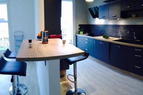 Une cuisine nature et tendance !, une cuisine réalisée par SoCoo'c Caen