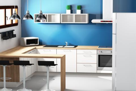 Une cuisine pour une résidence d'été !, une cuisine réalisée par SoCoo'c Bourges