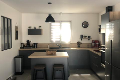 Une cuisine style indus', une cuisine réalisée par SoCoo'c La Rochelle